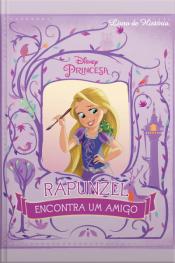 """Disney Livro De História """"rapunzel Encontra Um Amigo"""" Edição 3"""