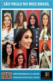 Mundo Miss - São Paulo No Miss Brasil