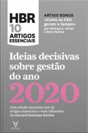 Ideias Decisivas Sobre Gestão Do Ano 2020