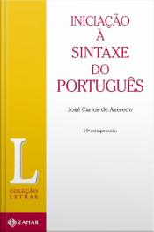 Iniciação À Sintaxe Do Português