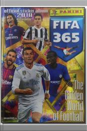 Álbum Panini Fifa 365 - 2018 - Cp + Figurinhas