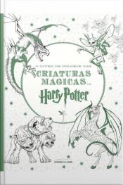 O Livro De Colorir Das Criaturas Mágicas De Harry Potter - Pocket