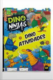 Dino Atividades Ninjas Azul
