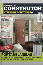 Manual Do Construtor Etapas Da Construção Ed. 10 - Portas E Janelas