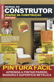 Manual Do Construtor Etapas Da Construção Ed. 8 - Pintura Fácil
