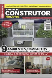 Manual Do Construtor Projetos Ed. 14 - 9 Projetos Com Até 160 M²
