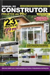 Manual Do Construtor Projetos Especial Ed. 1 - 23 Projetos De Até 99 M²